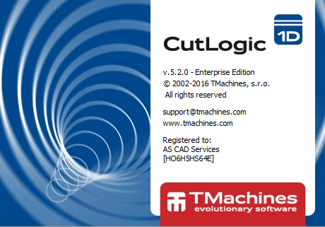 CutLogic 1D from TMachines